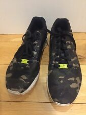 ADIDAS ZX MILAN FLUX CAMO CAMOFLAGE RUNNING TRAINERS UK 9 US 10 TORSION