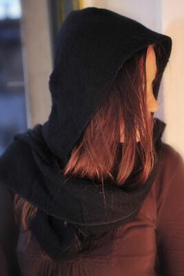 Womens Girl langen Schal weichen Seidenchiffon Wickelschal Muslim Kopftuch R6V5