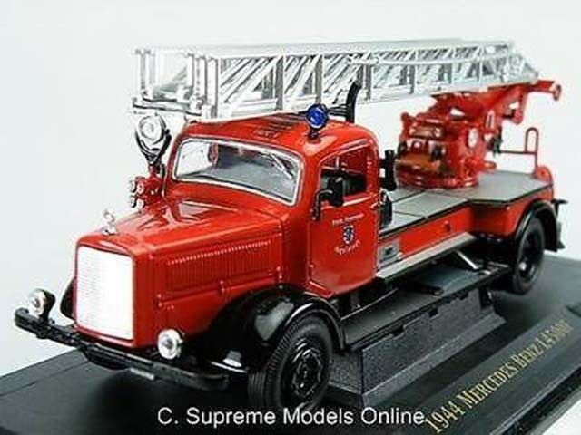 MERCEDES BENZ L450F 1944 FIRE APPLIANCE 1 43RD SIZE TURNTABLE EXAMPLE T3412Z(=)