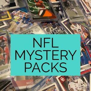 American Football/NFL 10 Card Mystery Pack 🔥🏈 100% Positive Reviews