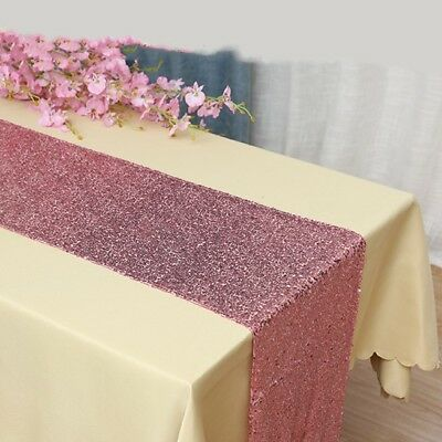 Incredible Pink Glitter Sequin Table Runner Wedding 21 Birthday Party Cake Personalised Birthday Cards Cominlily Jamesorg
