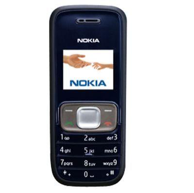Nokia 1209 Midnight Blue Unlocked Cellular Phone For Sale Online Ebay