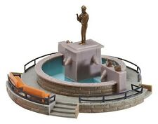 NEW HO Faller 130232 Market Square Fountain w Statue Figure (+4.75 US Shipping)