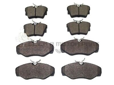RENAULT TRAFIC ALL MODELS 01-14 FRONT /& REAR BRAKE PADS QUALITY WITH SHIMS