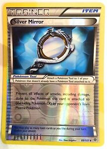 Argent-Miroir-89-101-Reverse-Holo-Pokemon-TCG-B-amp-w-Plasma-Blast-Trainer