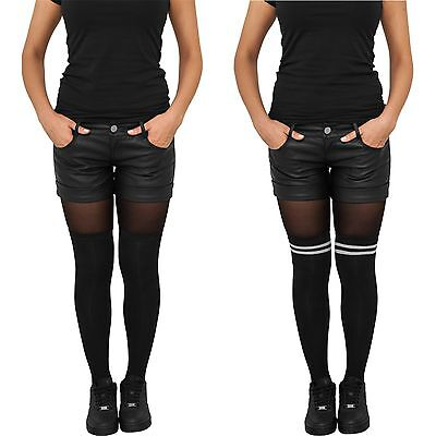 URBAN CLASSICS LADIES OVERKNEE SOCKS 2-Pack Kniestrümpfe Socken Damen College UC