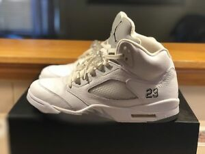 df6b92ddaea5 Image is loading Air-Jordan-Metallic-5s-Size-10-5