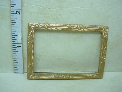Dollhouse Miniature Picture Frame #37 Painted Metal 1//12th Scale