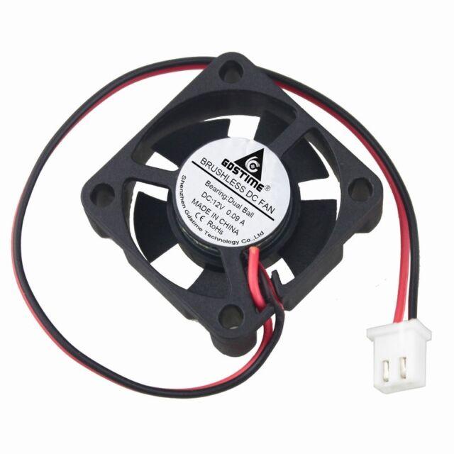 Dual Ball Bearing 12V 30x30x10mm Brushless DC Cooling Cooler Fan 2pin ph2.0