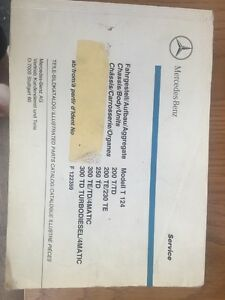 Mercedes Benz T124 Parts Catalog - London, United Kingdom - Mercedes Benz T124 Parts Catalog - London, United Kingdom