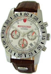 Riedenschild-Quarz-Steel-Chronograph-Herrenuhr-Rallye-Lederband-Limited-Edition