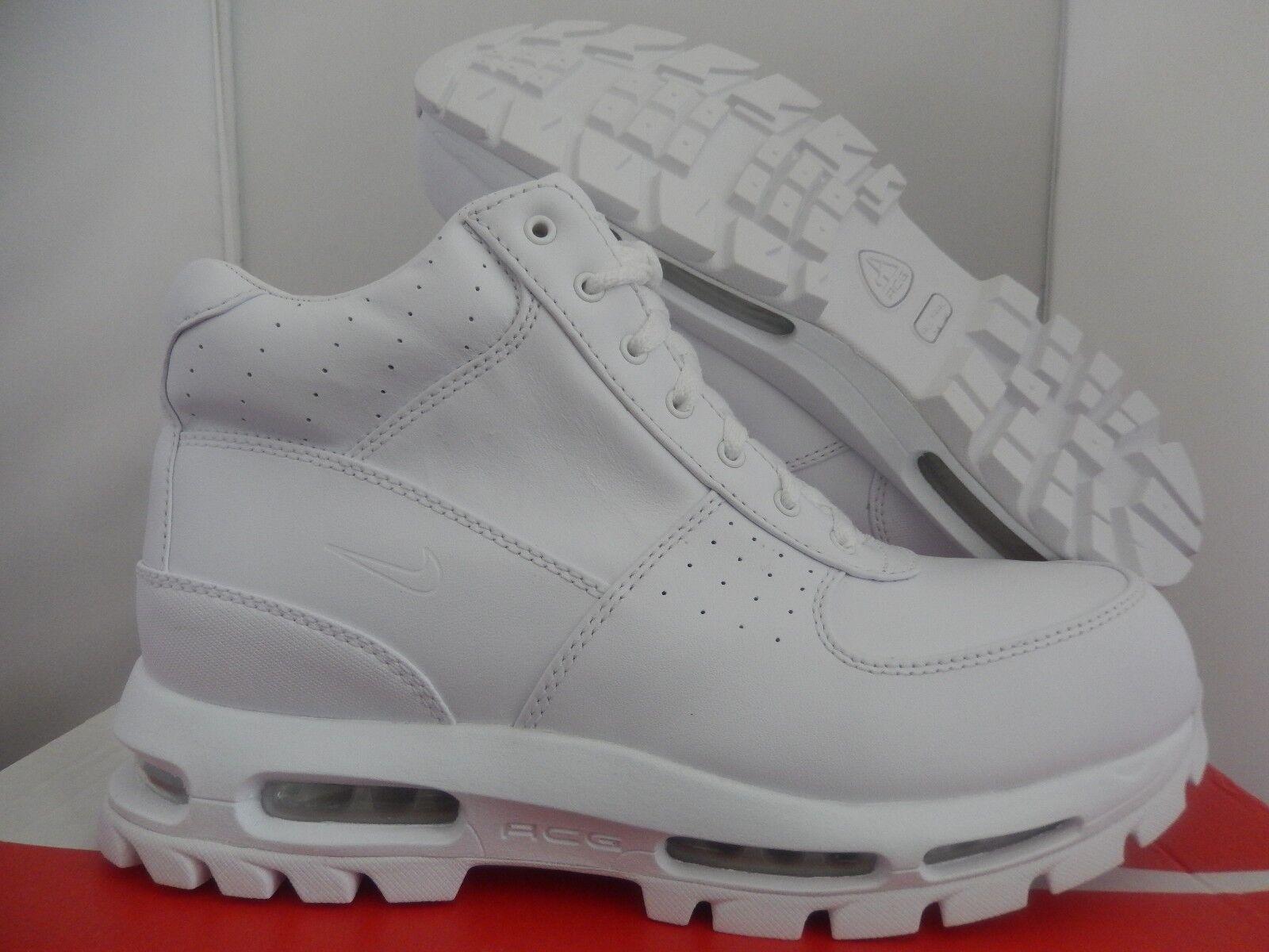Nike air max goadome 2013 qs stivali white-white sz - 822206-111]
