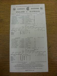 31-07-1975-Cricket-Scorecard-England-v-Australia-At-Lords-5-Day-Match-scores