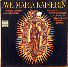 "HARMONIA MUNDI GERMANY ""Ave Maria Kaiserin"" AACHEN CATHEDRAL Pohl 065-99601 NM-"