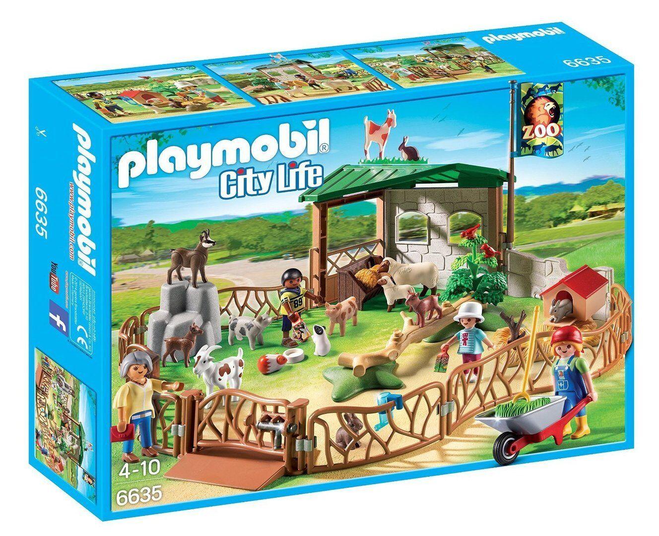 Playmobil 6635 6635 6635 - Zoo de Mascotas para Niños - NUEVO c88f87