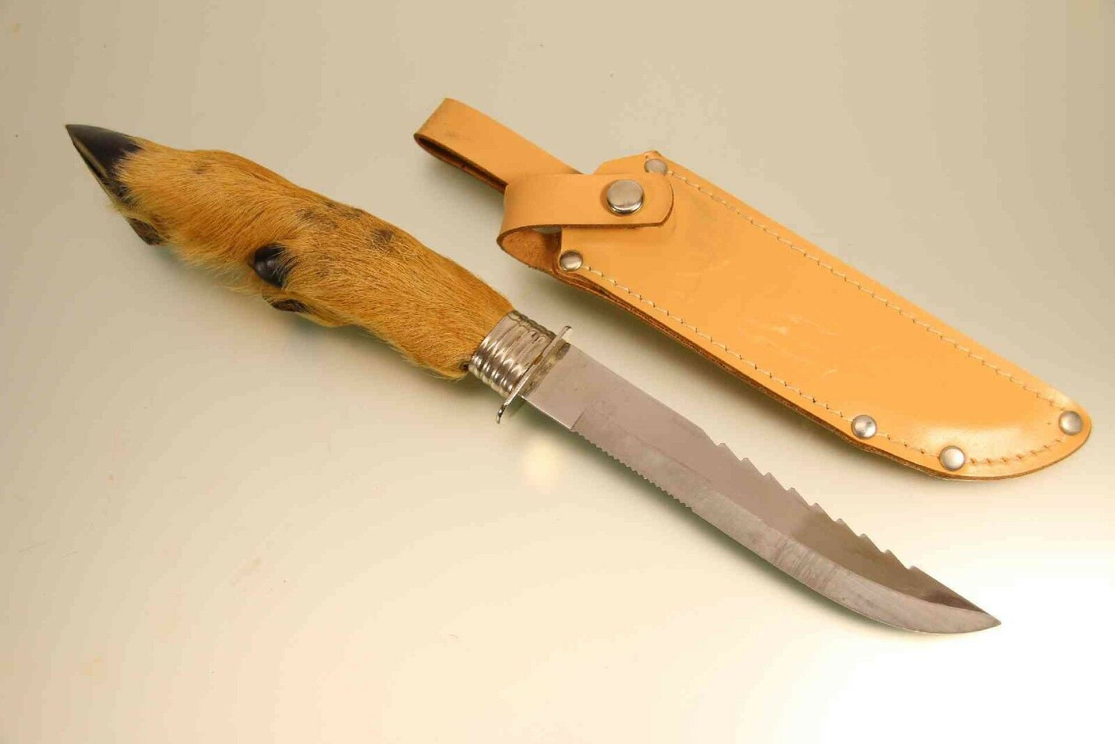 Trachtenmesser  Feitl Jagdmesser mit Rehlauf unbenutzt  store online