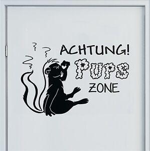 wandtattoo pups zone stinktier badezimmer schlafzimmer. Black Bedroom Furniture Sets. Home Design Ideas