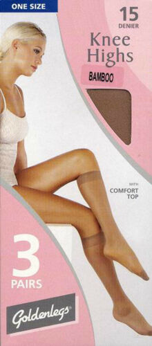 3 PAIRS OF KNEE HIGHS AVAILABLE IN 9 SHADES