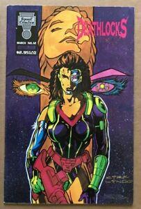 Spoof Comics 12 Deathlocks Kirk Lindo Deathlok Parody Bad Girl HTF VF