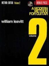 A Modern Method for Guitar Vol. 2 Vol. 2 by William Leavitt (2003, CD / Paperback, Reprint)