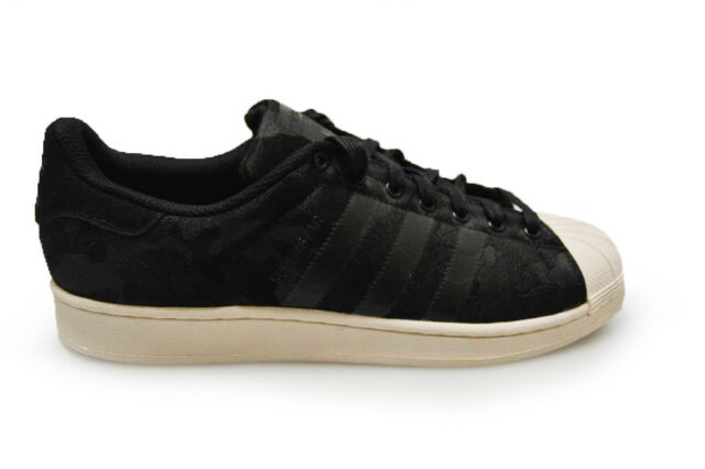 Mens Adidas Superstar Weave - AQ6745 - Black White Trainers