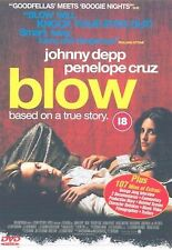 Blow (2001) Johnny Depp, Penélope Cruz, Franka Potente, Rachel NEW UK R2 DVD