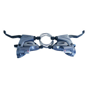 New-Shimano-Claris-ST-R240-L2xR8-Speed-Shifter-Brake-Lever-STI-For-Flat-Bar