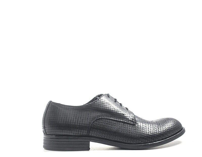 Zapatos pawelk's hombre negro naturaleza cuero 19016-ne