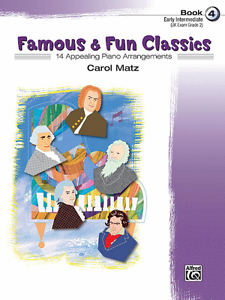 """célèbre & Fun Classics"" Early Intermediate Piano Music Book 4-neuf En Promotion!-afficher Le Titre D'origine Dans Beaucoup De Styles"