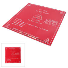 1pc Reprap 3d Printer Pcb Heatbed Mk2a Heat Bed Hot Plate For Mendel Prusa Red