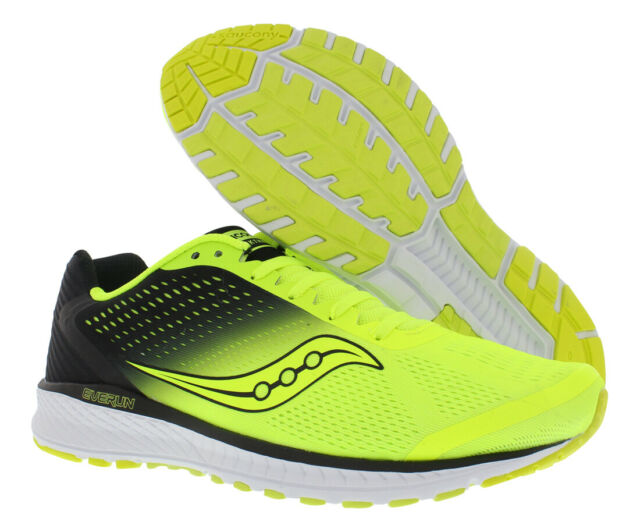 2468faabc9bf1 Saucony Mens Breakthru 4 Citron | Black Running Shoes Size 11 (186980)