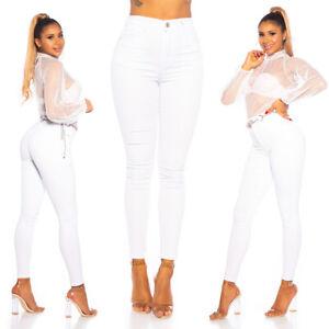 Jeans High Waist Ladies Skinny Jeans Denim Pants