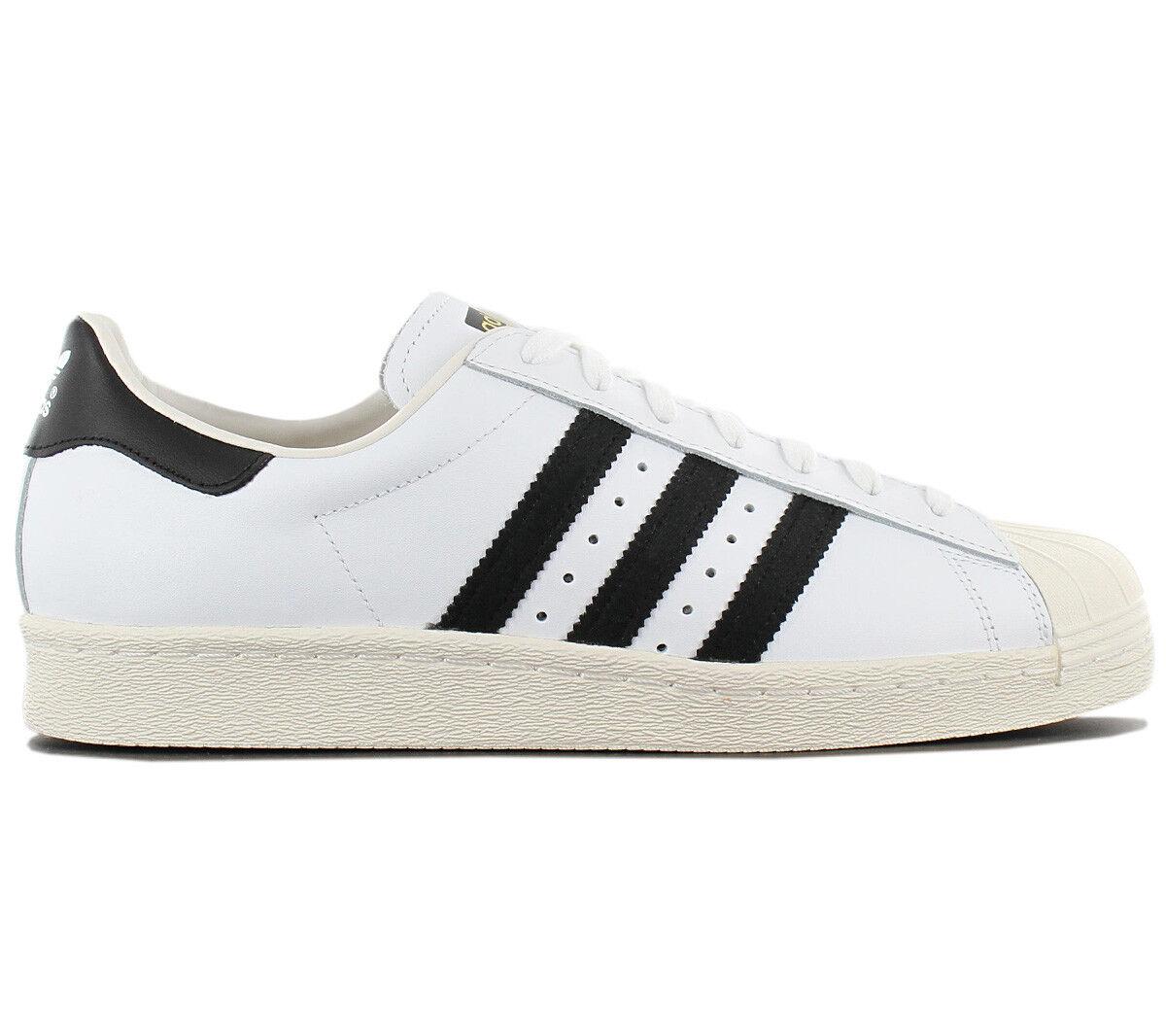 Adidas Originals Superstar Anni '80 zapatilla de deporte hombres zapatos pelle Bianco G61070