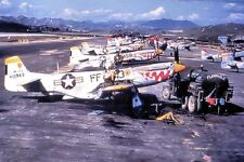 "American F-51D Mustang Fighter Plane 4""x 6"" Korean War Photo 1"