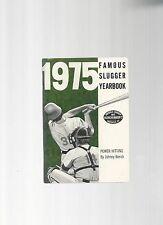 Original   1975   Louisville Slugger Famous Slugger Yearbook