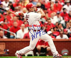 Albert-Pujols-Signed-8x10-Photo-Autographed-St-Louis-Cardinals-Reprint