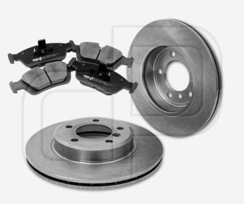 4 Bremsbeläge BMW 3er E46 vorneVorderachse300 mm belüftet 2 Bremsscheiben