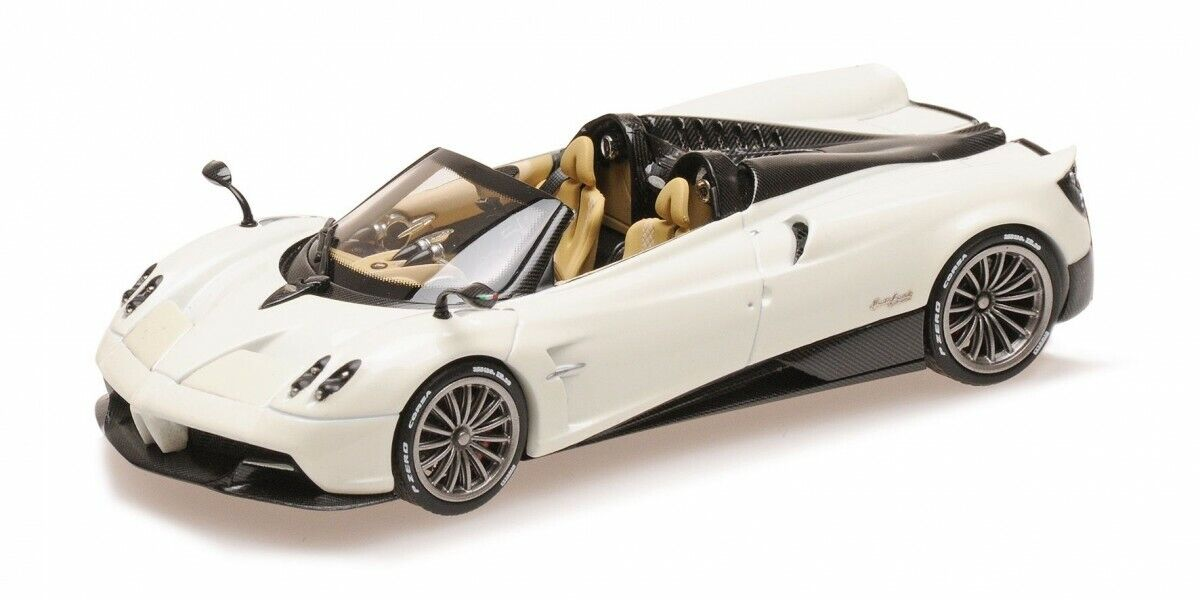 ALMOST REAL AL450302 1 43 Pagani Huayra Roadster 2017 White model cars