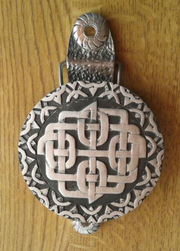 solide étain Anglais GRATUIT UK POSTE design exclusif Celtic Sheild heurtoir