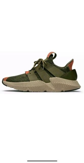 adidas Originals Prophere Mens Size 10 Trace Olive Green Solar Red CQ2127