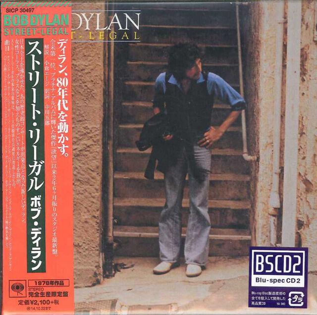 Bob Dylan-Street Legal-Japan Mini LP BLU-SPEC CD 2+ Buch Ltd/ED e51