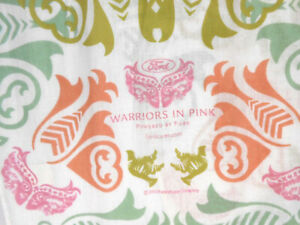 Ford-Warriors-in-Pink-Ladies-Cotton-Scarf-9-034-X-54-034-Multi-Color