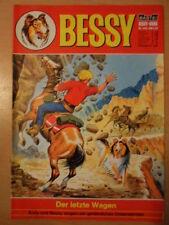 BESSY Nr. 440 (1) Der letzte Wagen 1 Bastei-Verlag Orginal