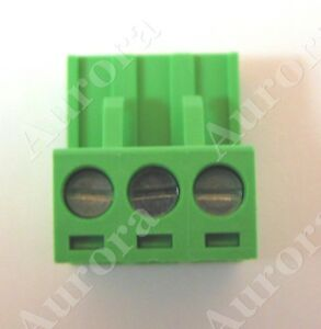 3 pin - 5mm / Terminal Block Connector - Crestron, Speakercraft, Niles, Russound