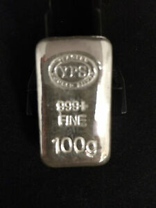 100g-Hand-Poured-999-Silver-Bullion-Bar-by-Yeagers-Poured-Silver-YPS