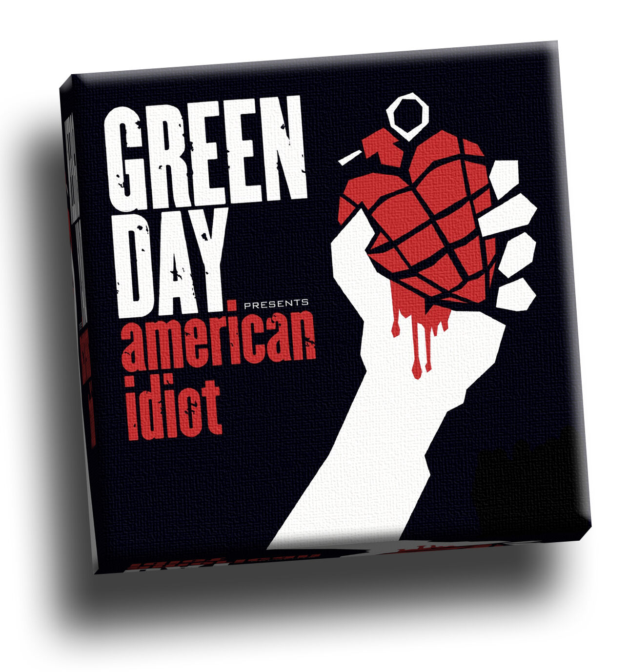 Grün Day - American Idiot Giclee Canvas Album Cover Picture Art