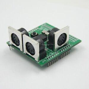 Midi-shield-breakout-board-for-compatible-Arduino-avi-pic-interface-numerique