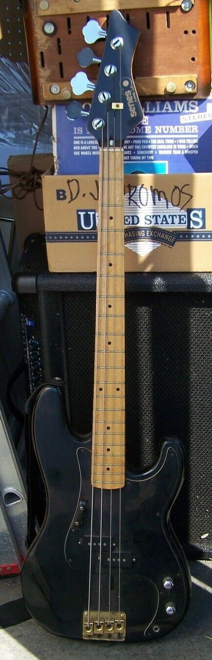 Vintage  Series 10  (By Bently) 4 String Electric Bass Guitar