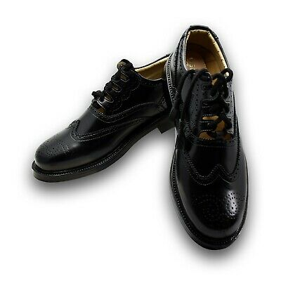 Leather Ghillie Brogue Brown Traditional Scottish Shoes for kilt size 6-13 New