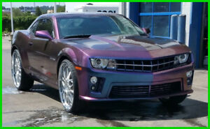 2010 Chevrolet Camaro 2SS Killer Exhaust Custom Paint Custom T Tops Body Kits